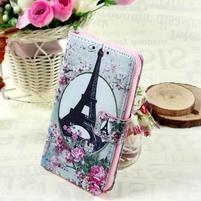 Stylové peněženkové pouzdro pro Samsung Galaxy Xcover 3 - Eiffelova věž