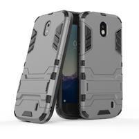 Defender odolný obal na mobil Nokia 1 - šedý