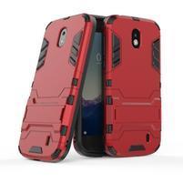 Defender odolný obal na mobil Nokia 1 - červený