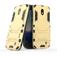 Defender odolný obal na mobil Nokia 1 - zlatý