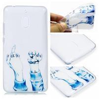 Patt silikonový kryt na mobil Nokia 2.1 - neslušné gesto