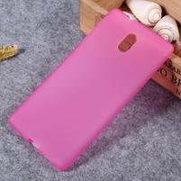 Matný gelový obal na Nokia 3 - rose