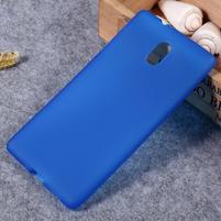 Matný gelový obal na Nokia 3 - modrý