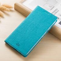 Klopové PU kožené pouzdro na mobil Nokia 3310 (2017) - modré