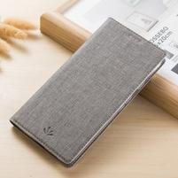 Klopové PU kožené pouzdro na mobil Nokia 3310 (2017) - šedé