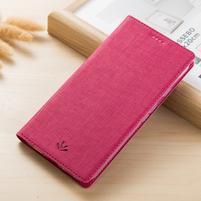 Klopové PU kožené pouzdro na mobil Nokia 3310 (2017) - rose