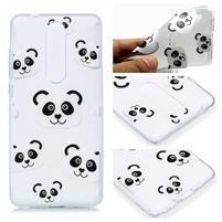 Print silikonový obal na mobil Nokia 5.1 - panda