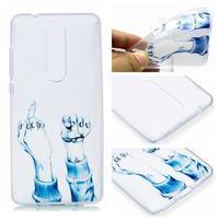 Print silikonový obal na mobil Nokia 5.1 - neslušné gesto