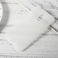 Matný gelový obal na mobil Nokia 6 - transparentní