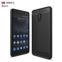 Carbo odolný obal se zesílenými rohy na Nokia 6 - černý