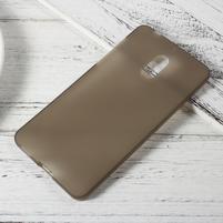 Matný gelový obal na mobil Nokia 6 - šedý