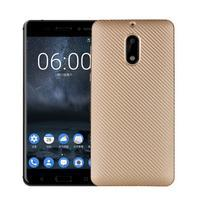 CarboSoft gelový obal na Nokia 6 - zlatý