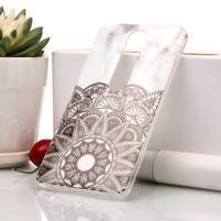 Marble silikonový kryt na mobil Nokia 6.1 - mandala