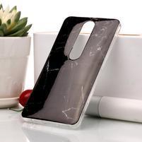 Marble silikonový kryt na mobil Nokia 6.1 - černý