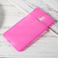 Matný gelový obal na mobil Nokia 6 - rose