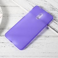 Matný gelový obal na mobil Nokia 6 - fialový