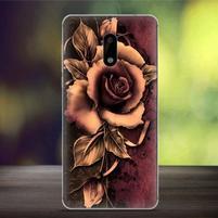 Cover gelový obal na mobil Nokia 6 - gotická růže