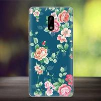 Cover gelový obal na mobil Nokia 6 - květiny