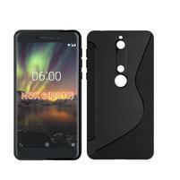 S-line silikonový kryt na mobil Nokia 6.1 - černý