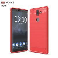 Carbo odolný obal na mobil Nokia 8 Sirocco - červený