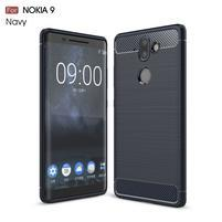 Carbo odolný obal na mobil Nokia 8 Sirocco - tmavěmodrý