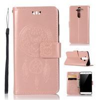Dream PU kožené pouzdro na mobil Nokia 8 Sirocco - rosegold