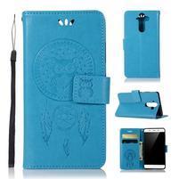 Dream PU kožené pouzdro na mobil Nokia 8 Sirocco - modré