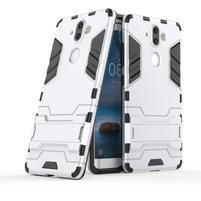 Defender odolný obal na Nokia 8 Sirocco - stříbrný