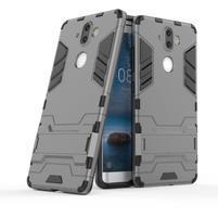 Defender odolný obal na Nokia 8 Sirocco - šedý