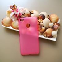 Matný gelový obal na mobil Nubia N1 - růžový