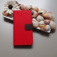 Duocolor PU kožené pouzdro na mobil Nubia Z11 - červené