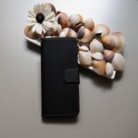 Duocolor PU kožené pouzdro na mobil Nubia Z11 - černé/šedé