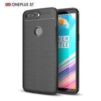 Litch odolný gelový obal na OnePlus 5T - černý