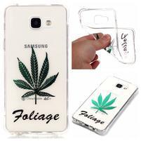 Laque gelový obal na mobil Samsung Galaxy A3 (2016) - foliage
