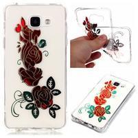Laque gelový obal na mobil Samsung Galaxy A3 (2016) - růže