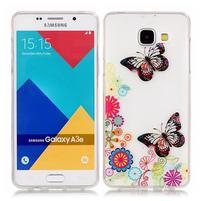 Nicis gelový obal na mobil Samsung Galaxy A3 (2016) - motýlci