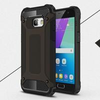 Defender odolný obal na mobil Samsung Galaxy A3 (2017) - černý