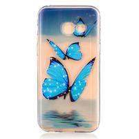 Softy gelový obal na Samsung Galaxy A3 (2017) - motýlci