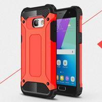 Defender odolný obal na mobil Samsung Galaxy A3 (2017) - červený