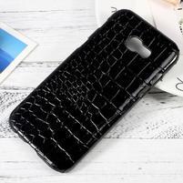 Hardy plastový obal na Samsung Galaxy A3 (2017) - černý krokodýl