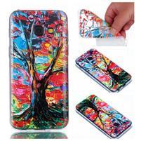 Rubbi gelový obal na Samsung Galaxy A3 (2017) - strom