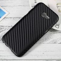 Hardy plastový obal na Samsung Galaxy A3 (2017) - černý karbon