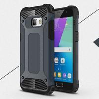 Defender odolný obal na mobil Samsung Galaxy A3 (2017) - tmavěmodrý