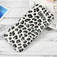Hardy plastový obal na Samsung Galaxy A3 (2017) - leopard