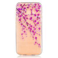 Softy gelový obal na Samsung Galaxy A3 (2017) - kvetoucí strom