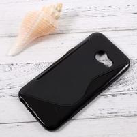 Sline gelový obal na mobil Samsung Galaxy A3 (2017) - černý