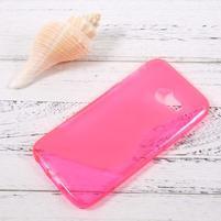 Sline gelový obal na mobil Samsung Galaxy A3 (2017) - rose
