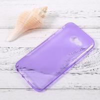 Sline gelový obal na mobil Samsung Galaxy A3 (2017) - fialový