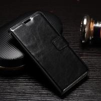 Francis peněženkové pouzdro na Samsung Galaxy A5 (2017) - černé