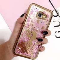 Sweety přesýpací gelový obal na Samsung Galaxy A5 (2017) - děvče